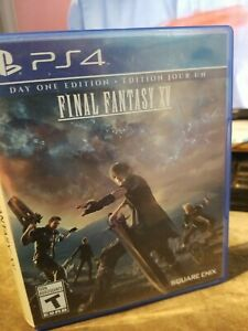 Final Fantasy XV FFXV FF15 (Sony PlayStation 4 PS4, 2016)