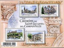 STAMP / TIMBRE FRANCE  BLOC FEUILLET NEUF N° F4838 ** CHEMINS DE COMPOSTELLE