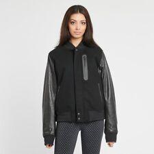Women's NikeLab Destroyer Jacket - MEDIUM - 908642-010 Leather Wool Lab Bomber