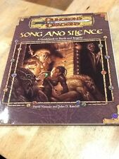 Dungeons and Dragons Accessory: Song and Silence : A Guidebook to Bards and Rog…