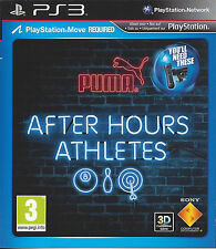 AFTER HOURS ATHLETES for Playstation 3 PS3 - with box & manual