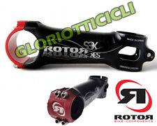 ROTOR - ATTACCO MANUBRIO S3X NERO-ROSSO 90 mm