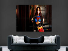 MEGAN FOX SUPERGIRL SUPERMAN SEXY HOT  GIRL    WALL LARGE IMAGE GIANT POSTER