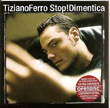 TIZIANO FERRO - stop! dimentica CD SINGLE 2TR CARD 2006