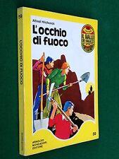 Alfred HITCHCOCK - L'OCCHIO DI FUOCO , Giallo dei Ragazzi n. 59 (1° Ed. 1972)