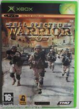 Jeu FULL SPECTRUM WARRIOR sur microsoft XBOX francais action guerre spiel game 1