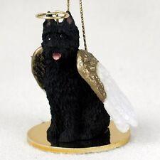 Bouvier des Flandres Dog Angel Tiny One Ornament Figurine Statue