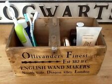 Diagon Alley- Ollivanders Wooden Storage Box - Crate for Harry Potter Fans