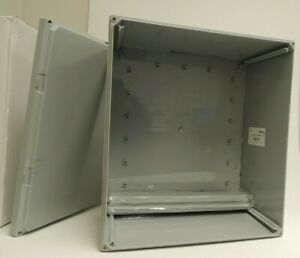 Integra 18x16x10 inches Enclosure w/ Screw Cover and Mounting Flanges