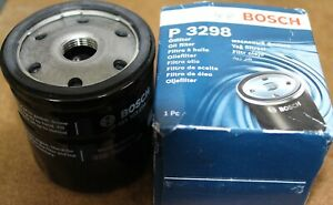 BOSCH OIL FILTER P3298 NEW OLD STOCK 0451103298-EDF FORD FIESTA FILTER CHANGE A1