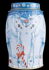 WILLIAMSON TEA ELEPHANT CADDY 20 EARL GREY PYRAMID TEA BAGS  (WONDERLAND) 2017