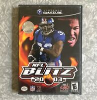 NFL Blitz 2003 Football Nintendo Gamecube *Missing Manual* TESTED Midway