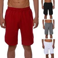Men's Summer Casual Cotton Jogger Shorts Beach Sport Gym Pants Running Shorts AI