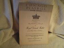 Royal Danish Ballet, Opera House, Week of 9/28/60-10/2/60, Chicago, ILL