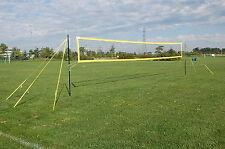 MVPro Sports - Portable Beach Volleyball System - YELLOW - Professional Quality