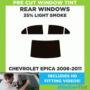 Pre Cut Window Tint - Chevrolet Epica 2006-2011 - 35% Light Rear