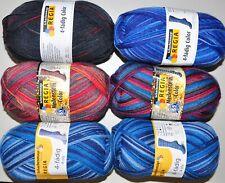 600g (6x100g) Sockenwolle REGIA color 4-fach Schachenmayr Coats Spar-Paket 1415
