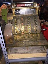Antique Brass National Cash Register NCR Candy Store Barber Shop