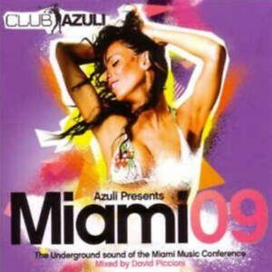 AZULI Presents Miami 09 (V.A/Piccioni) [2CD set] V/Good, ex music store stock