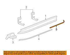 GM OEM Running Board Step-Insert Strip Right 15914687
