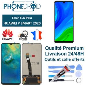 Écran complet LCD + tactile Huawei P Smart 2020 Noir + Outils, stock FR