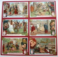 Victorian Trade Card Set - Liebig's Fleisch-Extract - Le Masque (Masks)   *