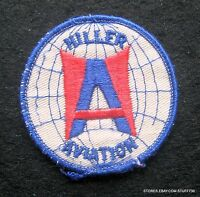 """HILLER AVIATION EMBROIDERED SEW ON ONLY PATCH AIRCRAFT MUSEUM CALIFORNIA 3"""""""
