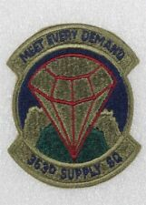 USAF Air Force Patch: 363rd Supply Squadron - subdued