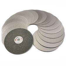 "18Pcs 6"" inch Diamond Grinding Disc Set Grit 60-3000 Coated Flat Lap Disk Wheels"
