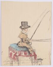 "Princess Henriette Odescalchi (1800-1852) ""Little coachman(son Victor at age 4)"""