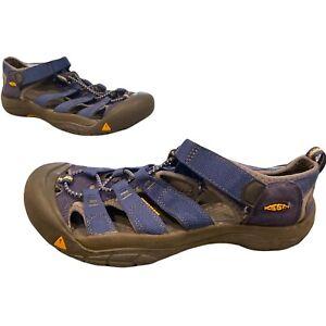 KEEN Waterproof Sandal Unisex Hiking Sport Sandal Size 6 Mens Blue Black Yellow