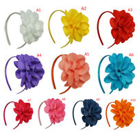 Big Flower Hair Bows Headband  Hairbands Hoop Hair Accessories For Girls
