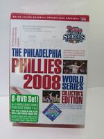 The Philadelphia Phillies 2008 World Series Collector's Edition 8 Disc Set DVD