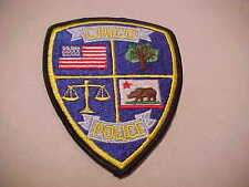 CHICO CALIFORNIA  POLICE PATCH **** FREE SHIP IN USA ****  SHOULDER SIZE NEW