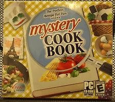 Mystery Cook Book Hidden Object Cd-Rom Windows Vista/Xp/2000/Me/98 Se Athlon New