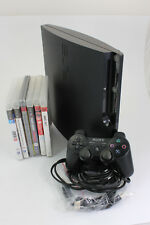 Sony PlayStation 3 250 gb ps3 con mando +6x juego consola de juegos c47 9118 j1