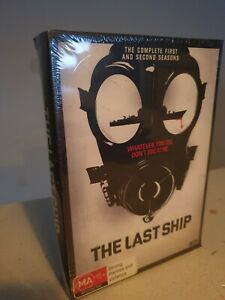 The Last Ship DVD COMPLETE SERIES 1 & 2 DVD - NEW+SEALED REGION 4
