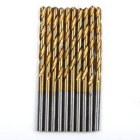 50x HSS TITAN Super Spiralbohrer Metallbohrer Bohrer Ø 1mm 1.5mm 2mm 2.5mm 3mm