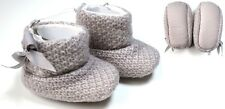 BABY GIRLS GREY BOUCLE BOOTS BOOTIE SHOES 9-12 MONTHS