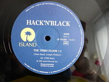 "MAXI 12"" HACK N BLACK The third floor 2459 PROMO ISLAND"