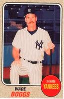 1993 Baseball Card Magazine '68 Topps Replicas Baseball SC76 Wade Boggs