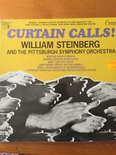 WILLIAM STEINBERG / PITTSBURGH SYMPHONY LP Curtain Calls! NEW SMALL HOLE IN CORN