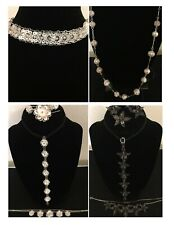 925 Asian Silver Filigree Necklaces and Jewelry Sets – Your Choice