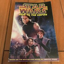 STAR WARS HEIR TO THE EMPIRE First THRAWN TIMOTHY ZAHN GRAPHIC NOVEL 1st Edition