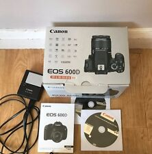 CANON EOS 600D DIGITAL 18.0 MP CAMERA WITH EF-S 18-55mm LENS EXCELENT