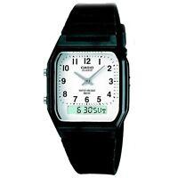 Casio Unisex Chronograph Retro Watch, Analogue/Digital Dial, 5 ATM, AW-48H-7BV