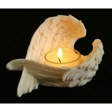 Feather Angel Wings Tealight Candle Holder Memorial
