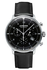 Junkers Bauhaus Chronograph Mens Watch Chrono 6086-2