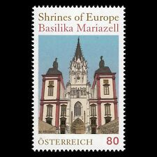"Austria 2016 - Shrines of Europe ""The Basilica of Mariazell"" Architecture - Mnh"