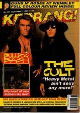 Duffy & Astbury of The Cult on Kerrang Cover 1991     Richie Sambora    Skid Row